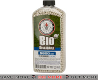 G&G Precision Biodegradable  Match Grade .28g Airsoft BBs - White (5600 Rounds) 0.27g & Heavier BBs- ModernAirsoft.com