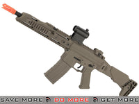 "GHK G5 Airsoft Hard Kick Gas Blowback GBB Rifle with 12"" Carbine Conversion (Color: Tan) GHK- ModernAirsoft.com"