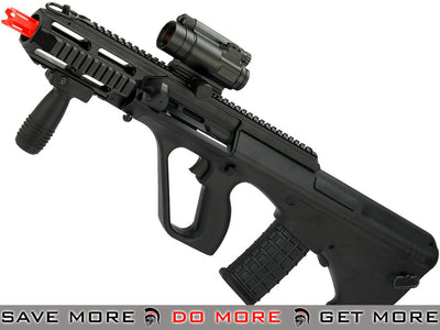 GHK Gas Blowback AUG A3 Airsoft Rifle Gas Blowback Rifle- ModernAirsoft.com