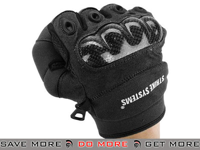 ASG STRIKE Systems Tactical Assault Gloves - Size Large (Black) Gloves- ModernAirsoft.com