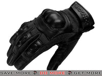 Condor Syncro Hard Knuckle Gloves (Black / Medium) Gloves- ModernAirsoft.com