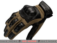 Condor Syncro Hard Knuckle Gloves (Coyote / Medium) Gloves- ModernAirsoft.com