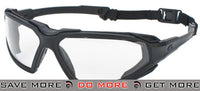 ASG Strike Systems Tactical Full Seal Airsoft Shooting Glasses (Clear) Head - Goggles- ModernAirsoft.com