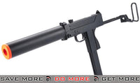 HFC Full Auto M11A1 / Mac 11 Airsoft Gas Blowback Submachine Gun w/ Mock Silencer HFC- ModernAirsoft.com