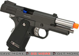 "WE-USA Full Metal ""Bravo"" 3.8 Inch 2011 Hi-Capa Airsoft Gas Blowback Pistol WE / CQB Master- ModernAirsoft.com"
