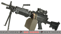 G&P M249 SAW Airsoft AEG Rifle with Collapsible Stock Airsoft Electric Gun- ModernAirsoft.com