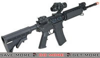 KJ Works Full Metal M4 RIS Airsoft GBB Gas Blowback Rifle Gas Blowback Rifle- ModernAirsoft.com