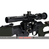 AIM OD Green Gas Blowback Russian Classic AK SVD Airsoft GBB Sniper Rifle w/ Scope SVD / Dragunov / Type 79- ModernAirsoft.com