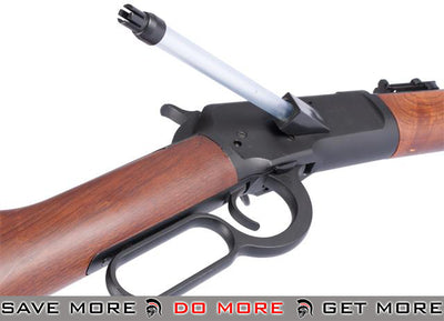 Pre-Order ETA June 2018 - Special Edition M1892 Lever Action Airsoft Gas Sniper Rifle by A&K (480~530 FPS!) (Imitation Wood) Gas Rifles (Non-Blowback)- ModernAirsoft.com