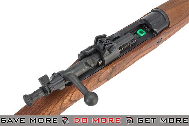 G&G Top Tech GM1903 A3 Airsoft Gas Rifle w/ Real Wood