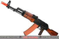 GHK Full Metal GK74 AK74 Airsoft GBB Rifle with Real Wood Furniture Gas Blowback Rifle- ModernAirsoft.com