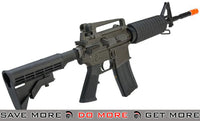 King Arms Full Metal Fully Licensed Colt M4A1 Carbine Airsoft Gas Blowback GBB Rifle M4 / M16- ModernAirsoft.com