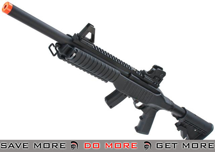 KJW Full Metal KC-02 Airsoft Gas Blowback Tactical Carbine / Sniper Rifle (Version: Type B) Gas Blowback Rifle- ModernAirsoft.com