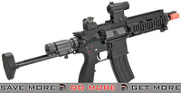 WE 888C Assault Rifle Airsoft Gas Blowback GBB - Black M4 / M16- ModernAirsoft.com
