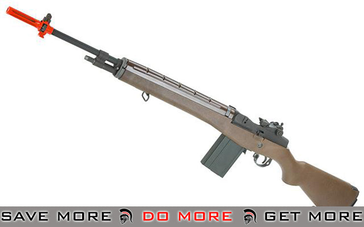 Full Size Gas Blowback M14 Full Metal Airsoft Sniper Rifle by WE Tech. (Imitation Wood) M14 / M1A / SOC-16 / EBR- ModernAirsoft.com