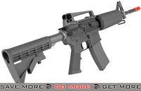 WE Open Bolt Full Metal M4 Airsoft Gas Blowback GBB Rifle (Color: Black) M4 / M16- ModernAirsoft.com