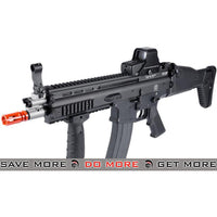 FN Licensed Open Bolt SCAR-L Airsoft GBB Rifle by WE - Black MK16 / MK17 / SCAR / MK22- ModernAirsoft.com