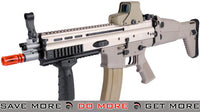 FN Licensed Open Bolt SCAR-L Airsoft GBB Rifle by WE Tech (Color: Tan) MK16 / MK17 / SCAR / MK22- ModernAirsoft.com