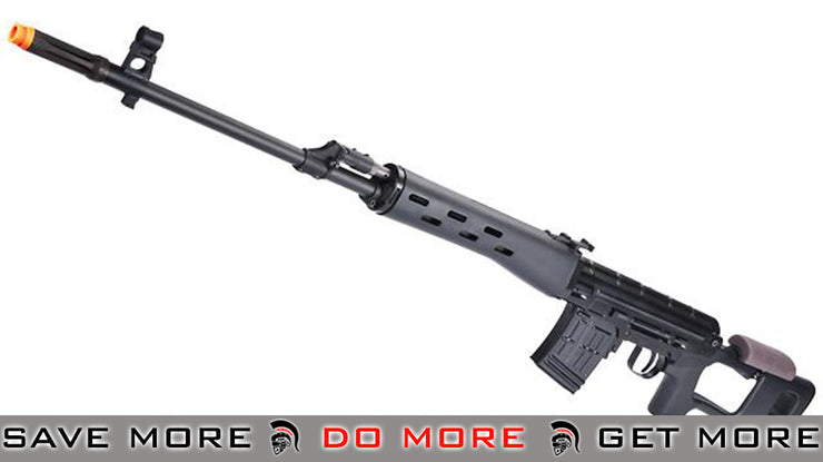 WE-Tech Full Metal CNC Aluminum SVD Airsoft GBB Gas Blowback Sniper Rifle (500 FPS) SVD / Dragunov / Type 79- ModernAirsoft.com