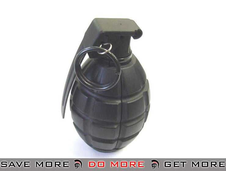 SY Airsoft Gas Powered Hand Grenade (Pineapple Type) - Black (Set of 1) Grenades & Mines- ModernAirsoft.com
