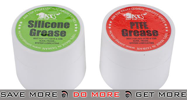Silicone & PTFE (X-Large) Combo Set for Airsoft AEG & GBB Pistols & Rifles Lube / Oil / Grease- ModernAirsoft.com