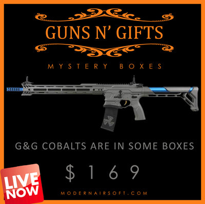 """Guns N' Gifts"" Airsoft MYSTERY BOX"