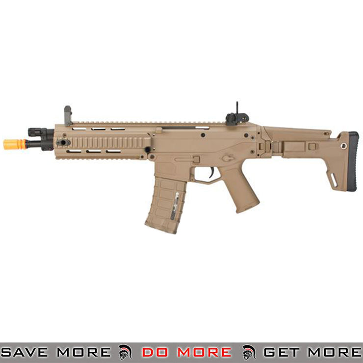 A&K Tan Adaptive Combat Rifle CQB RIS Custom Airsoft AEG Rifle