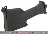 A&K Full Size Polymer Stock for M249 MK-II Full Metal AEG Rifles (Black) Stocks- ModernAirsoft.com
