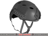 6mmProShop Airsoft Bump Helmet (PJ Type / Advanced / Black) Head - Helmets- ModernAirsoft.com
