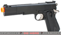 HFC M1911 Elite .45 Long Barrel Airsoft Non-Blowback Gas Pistol - Black HFC- ModernAirsoft.com
