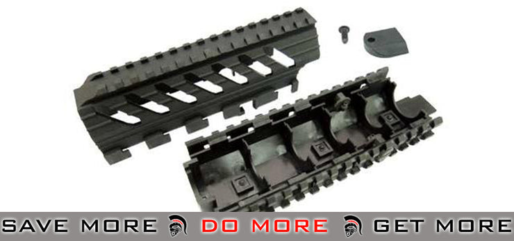 ICS Replacement Tactical RIS Handguard for ICS Galil Series Airsoft AEG (MG-36) Others- ModernAirsoft.com