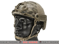 Emerson Bump Type Airsoft Helmet (MICH Ballistic Type / Advanced / Kryptek Highlander) Head - Helmets- ModernAirsoft.com