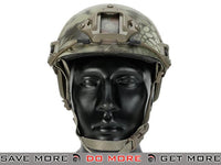 Lancer Tactical Ballistic Type Advanced Airsoft Helmet (Kryptek Mandrake) Head - Helmets- ModernAirsoft.com