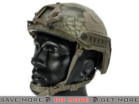 6mmProShop Bump Type Airsoft Helmet (MICH Ballistic Type / Advanced / Kryptek Mandrake) Head - Helmets- ModernAirsoft.com