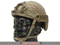 Lancer Tactical Ballistic Type Advanced Airsoft Helmet (Kryptek Nomad) Head - Helmets- ModernAirsoft.com