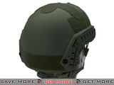 Emerson Bump Type Airsoft Helmet (MICH Ballistic Type / Advanced / OD Green) - Modern Airsoft
