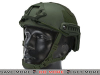 Emerson Bump Type Airsoft Helmet (MICH Ballistic Type / Advanced / OD Green) Head - Helmets- ModernAirsoft.com