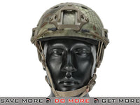 Lancer Tactical Airsoft PJ Type Advanced Bump Helmet - Kryptek Mandrake Head - Helmets- ModernAirsoft.com