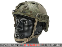 6mmProShop Airsoft Bump Helmet (PJ Type / Advanced / Kryptek Mandrake) Head - Helmets- ModernAirsoft.com