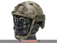 Lancer Tactical Airsoft PJ Type Advanced Bump Helmet (Kryptek Nomad) Head - Helmets- ModernAirsoft.com