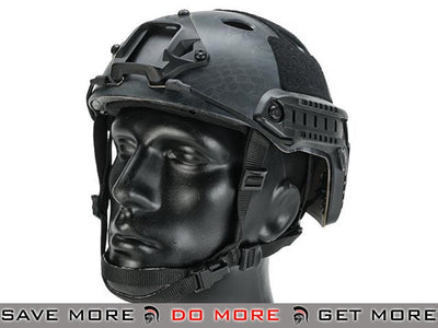 Lancer Tactical Airsoft PJ Type Advanced Bump Helmet - Kryptek Typhon Head - Helmets- ModernAirsoft.com