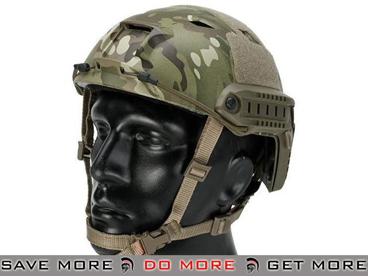 Lancer Tactical Airsoft Helmet Bump Type (BJ Type / Advanced / Multicam) - Modern Airsoft