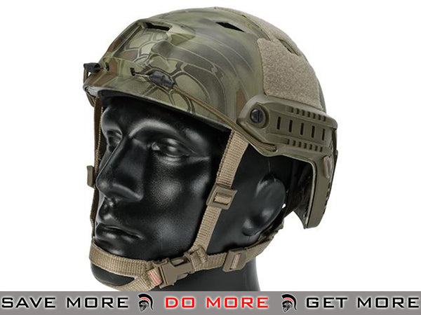 6mmProShop Tactical Airsoft Helmet Bump Type (BJ Type / Advanced / Kryptek Mandrake)