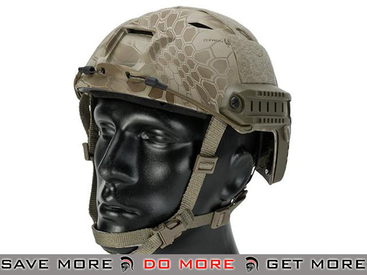 Emerson Tactical Airsoft Helmet Bump Type (BJ Type / Advanced / Kryptek Nomad)