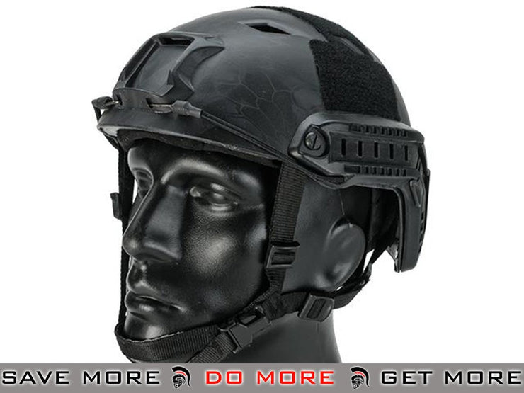 Emerson Tactical Airsoft Helmet Bump Type (BJ Type / Advanced / Kryptek Typhon) Airsoft- ModernAirsoft.com