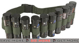 Enola Gaye OD Hang Ten Belt / Bandolier for Airsoft Smoke Grenades Slings- ModernAirsoft.com