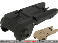 ICS CXP Flip-up Front Rifle Sight - Black iron sights- ModernAirsoft.com