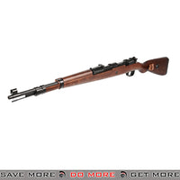 G&G Armament G980K SE Kar 98K WW2 Green Gas Shell Ejecting Airsoft Rifle w/ Real Wood Stock Gas Rifles (Non-Blowback)- ModernAirsoft.com