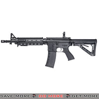 G&G Top Tech Blowback TR4 MOD 0 Carbine Full Metal Airsoft AEG Rifle - Black G&G Blowback- ModernAirsoft.com