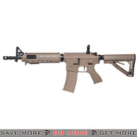 G&G Top Tech Blowback TR4 MOD 0 Carbine Full Metal Airsoft AEG Rifle - Tan G&G Blowback- ModernAirsoft.com